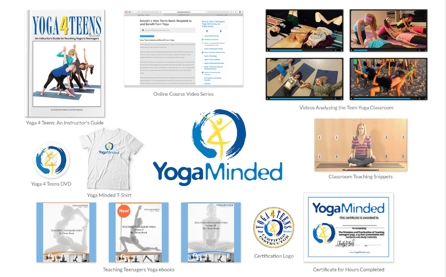 Teen Yoga Teacher Training Online Course Yogaminded